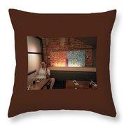 Hapa Sushi Display 1 Throw Pillow