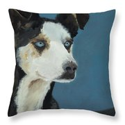 Happines Is... Shadow Throw Pillow