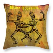 Happiness Is.. Throw Pillow