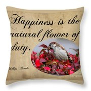 Happiness Is Throw Pillow