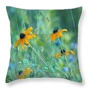 Happiness Is In The Meadows Throw Pillow
