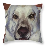 Happiness Is... Sammy Throw Pillow