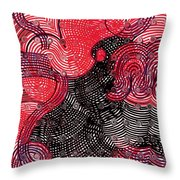 Happy Again Throw Pillow