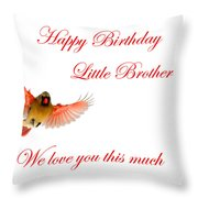 Happy Birthday Little Brother Metal Print By Randall Branham