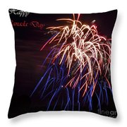 Happy Canada Day.. Throw Pillow