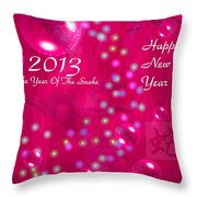 Happy Chinese New Year 2013  4 Throw Pillow