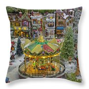 Happy Christmas-4 Throw Pillow