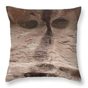 Happy Cliff Throw Pillow
