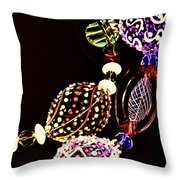 Happy Colors 2 Throw Pillow