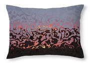 Happy Dance Abstract Throw Pillow