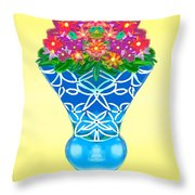 Happy Day Urn Throw Pillow