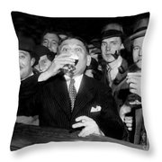 Happy Days Are Here Again Throw Pillow