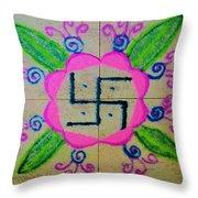 Happy Dhanteras Throw Pillow
