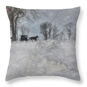 Happy Holidays From Pa Throw Pillow by Lori Deiter