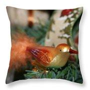 Happy Holidays Throw Pillow