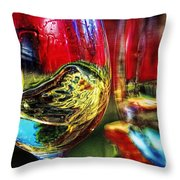 Happy Hour  2 For 1  Throw Pillow
