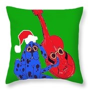Happy Hunka Holiday Throw Pillow