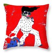 Happy Hunka Holiday Yall Throw Pillow