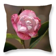 happy mother's day - Camellia Throw Pillow