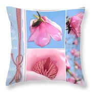 Happy Mother's Day Throw Pillow by Lisa Knechtel