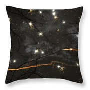 Happy New Year 2014 Two Throw Pillow