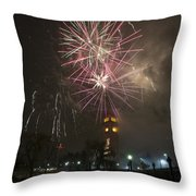 Happy New Year 2014c Throw Pillow