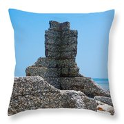 Harbor Island Ghosts Throw Pillow