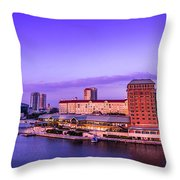 Harbor Island Throw Pillow by Marvin Spates