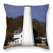 Harbor Light Throw Pillow