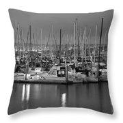 Harbor Lights II Throw Pillow