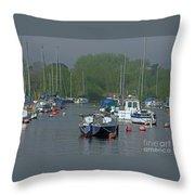 Harbor Rest Throw Pillow