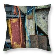 Harbor Shanty Throw Pillow