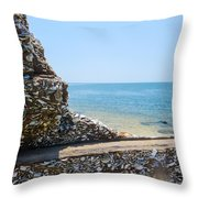Harbor View Unseen Throw Pillow