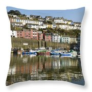 Harbour Mirrored Throw Pillow