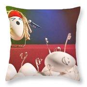 Hard Boiled Rock Concert Throw Pillow