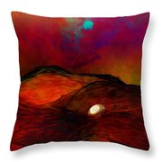 Hard Landing Throw Pillow