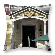 Hard Rock Key West Throw Pillow