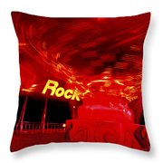 Hard Rock Hard Ride Throw Pillow