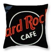 Hard Rock - St. Louis Throw Pillow