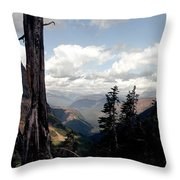 Hard To Live At 7000 Feet Throw Pillow