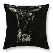 Hard Wired Throw Pillow