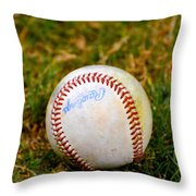 Hardball Throw Pillow