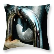Hardened  Throw Pillow