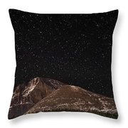 Hardened With Time Throw Pillow