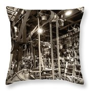 Hardwork And Experience Throw Pillow