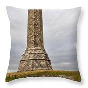 Hardy Monument Throw Pillow