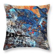 Hare 682 -marucii Throw Pillow
