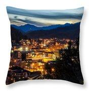 Harlan Night Life Throw Pillow