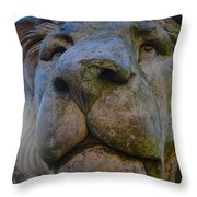 Harlaxton Lions Throw Pillow