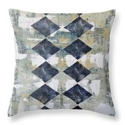 Harlequin Series 2 Throw Pillow